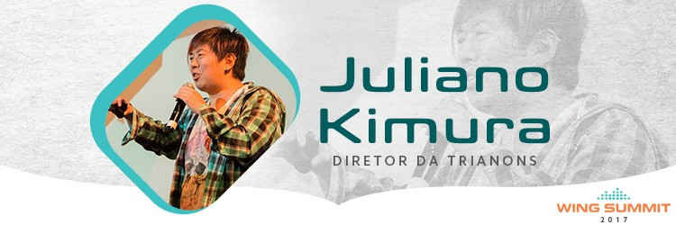 Samurai do Marketing Digital, Juliano Kimura estará na Wing Summit